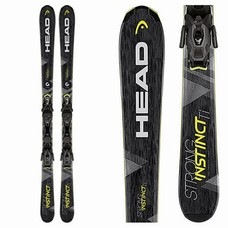 Head Strong Instinct Ti Skis w/PR11 MBS 85mm Brake 2018