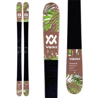 Volkl Transfer 85 Flat Skis (Skis Only) 2018