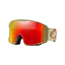 Oakley Sammy Carlson/Line Miner Razor Camo Snow Goggles Red w/Prizm Torch 2018
