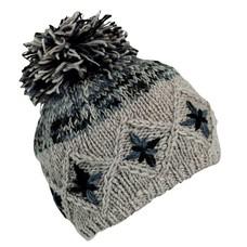 Turtle Fur Nepal Kukee Pom Wool Hat