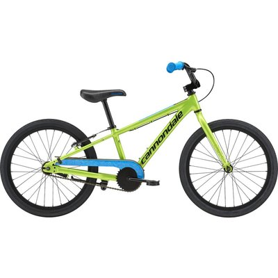 """Cannondale Youth 20"""" Trail Single Speed Acid Green ( AGR ) 2018"""