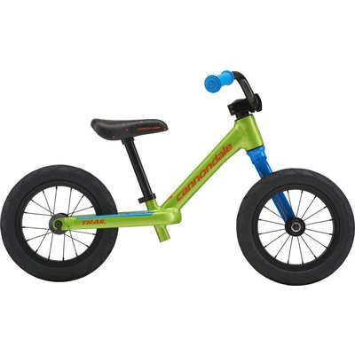 "Cannondale Youth 12"" Trail Balance Bike Acid Green (AGR) 2018"