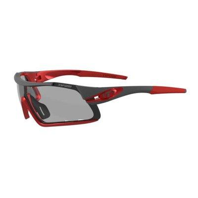 Tifosi Davos Sunglasses Race Red Smoke Fototec
