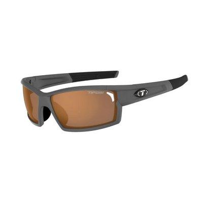 Tifosi CamRock Matte Gunmetal Sunglasses w/Brown Fototec Lens