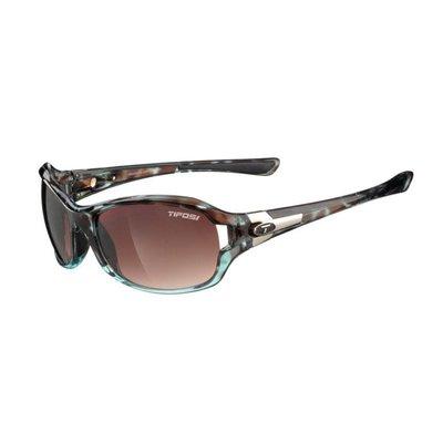 Tifosi Dea SL Crystal Brown Sunglasses w/Brown Gradient Lens