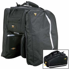 Topeak Trunk Bag MTX, EXP, Divided Compartment Two Expandable Side Panniers, Insulated Main Compartment