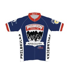 Philbrick Rides Tour de Cure Team Jersey