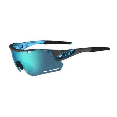 Tifosi Alliant Sunglasses Gunmetal/Blue Clarion Blue/AC Red/Clear