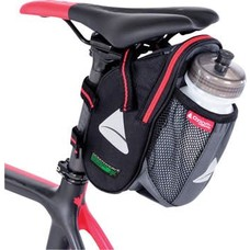 Axiom Seymour Oceanweave Wedge 1.3 H2O Saddle Bag: Black