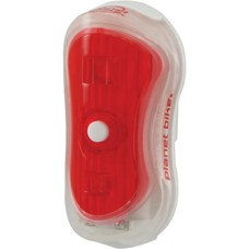 Planet Bike Superflash Turbo Mini Red LED White Body