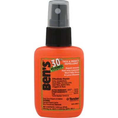 Adventure Medical Kits First Aid: Ben's 30% DEET Insect Repellent: 1.25oz Spray