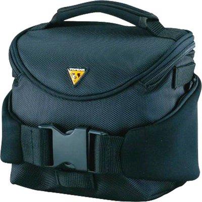Topeak Compact Handlebar Bag/Fanny Pack with Fixer 8 - Black