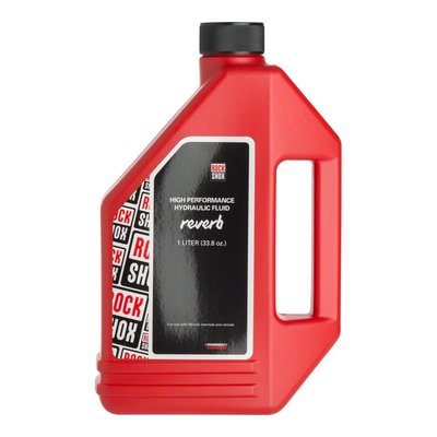 RockShox Reverb Hydraulic Fluid, 1 Liter Bottle, Reverb/Sprint Remote
