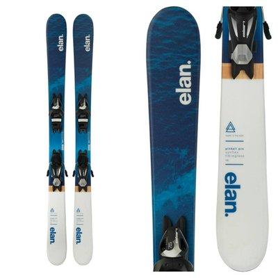 Elan Jr Pinball Pro QS Ski w/EL 7.5 AC Shift B90 Black/Silver Binding 2019