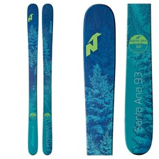 Nordica Women's Santa Ana 93 Skis (Ski Only) 2019