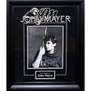 John Mayer Signed Photo
