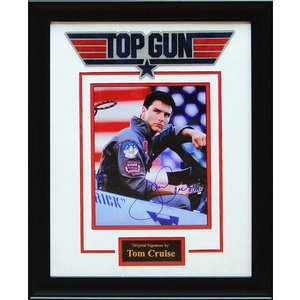 Top Gun – Tom Cruise Signed 8x10 Photo