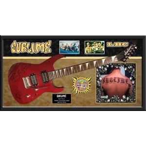 """Sublime"" - red Jackson guitar"