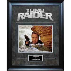 Tomb Raider – Angelina Jolie Signed Photo