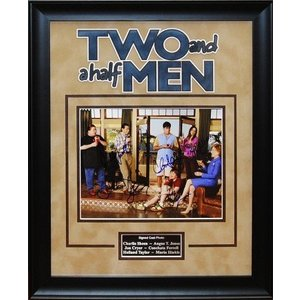 Two and a Half Men – Cast Signed Photo