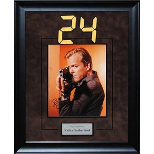 24 – Kiefer Sutherland Signed Photo