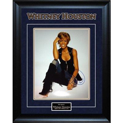 Whitney Houston Signed 11×14 Photo