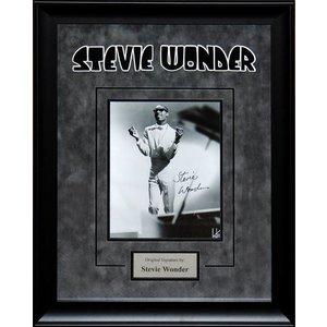 Stevie Wonder – Signed Photo