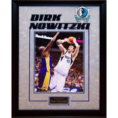 Dallas Mavericks – Dirk Nowitzki Signed 11x14 Photo