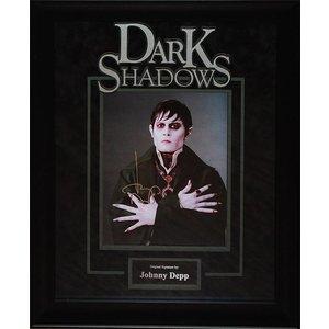Dark Shadows – Johnny Depp Signed Photo