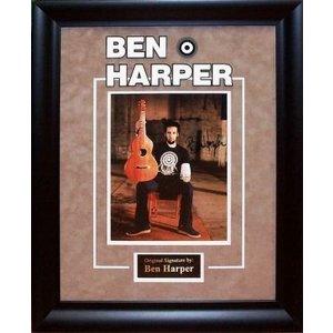 Ben Harper Signed 8x10 Photo