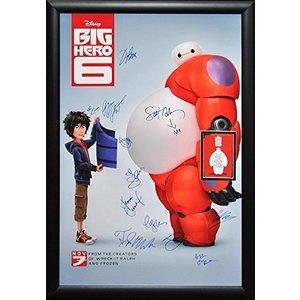 Big Hero 6 – Cast Signed Poster