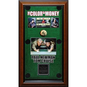 Color of Money – Paul Newman & Tom Cruise Signed 13 Ball