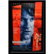 Breakdown – Cast Signed Movie Poster