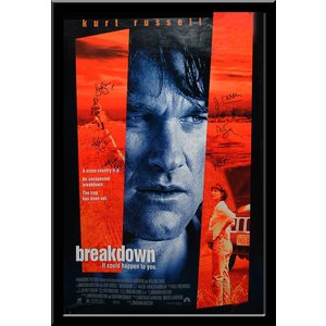 Breakdown – Cast Signed Movie Poster