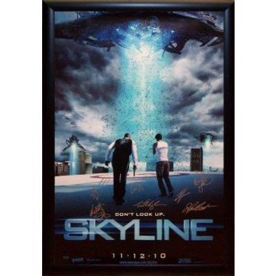 Skyline Signed Movie Poster