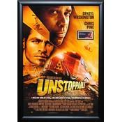Unstoppable – Denzel Washington Signed Movie Poster