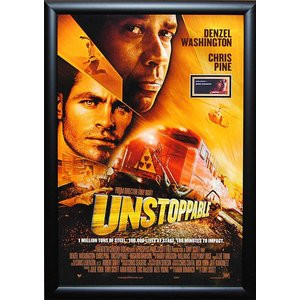 Unstoppable – Denzel Washington Signed Movie Poster