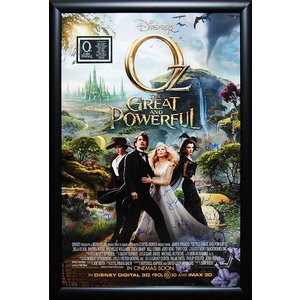 OZ The Great and Powerful – Signed Movie Poster