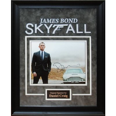 James Bond Skyfall – Daniel Craig Signed Photo