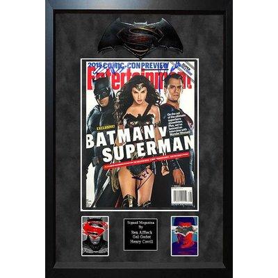 """BatmanVSuperman"" EW mag x3uf"
