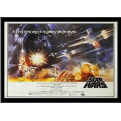 Star Wars – A New Hope – Cast Signed Quad Poster
