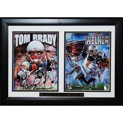 New England Patriots – Tom Brady/Wes Welker unsigned
