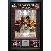 Manny Pacquiao & Floyd Mayweather Jr – Signed Mini Poster