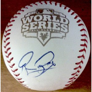 San Francisco Giants manager Bruce Bochy Autographed 2012 World Series baseball