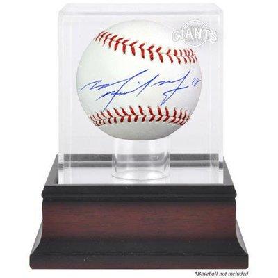 Michael Morse Signed Baseball and Case