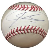 Los Angeles Angels - Josh Hamilton signed baseball
