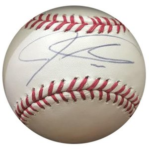 Los Angeles Angels - Josh Hamilton signed baseball