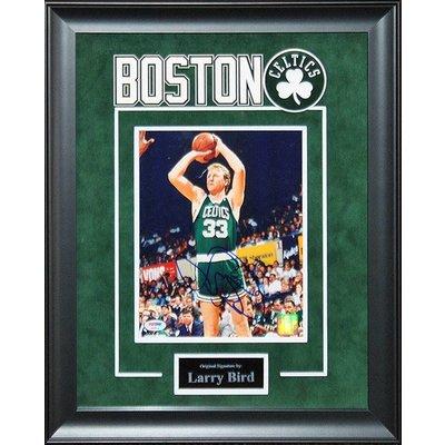 Boston Celtics - Larry Bird autographed 8x10 photo
