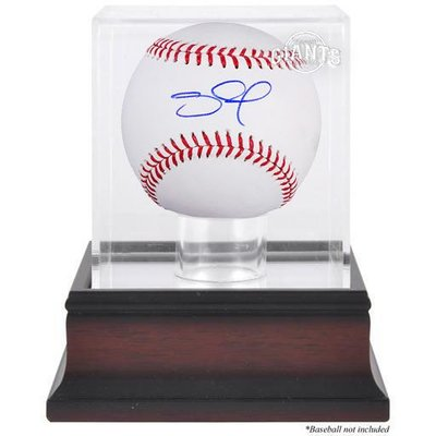 Pablo Sandoval Signed Baseball and Case