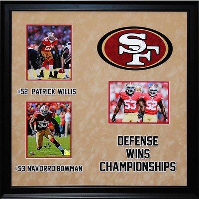 San Francisco 49ers – Willis/Bowman Signed Photos